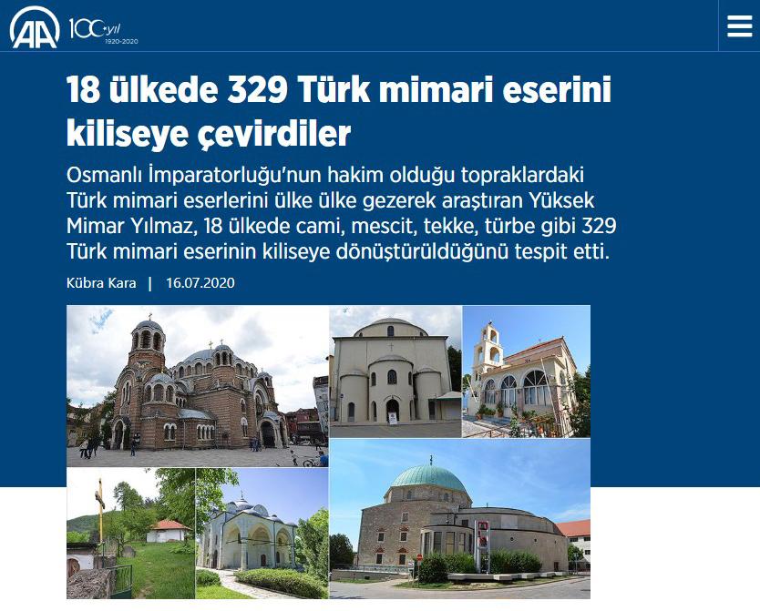 Kiliseye Çevrilen Türk Eserleri gazete haberleri (16)