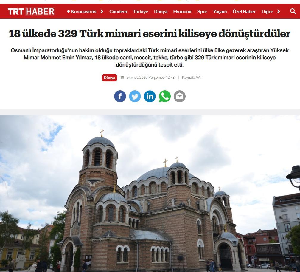 Kiliseye Çevrilen Türk Eserleri gazete haberleri (23)